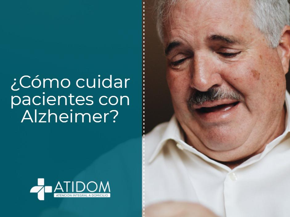 ¿Cómo cuidar pacientes con alzheimer?